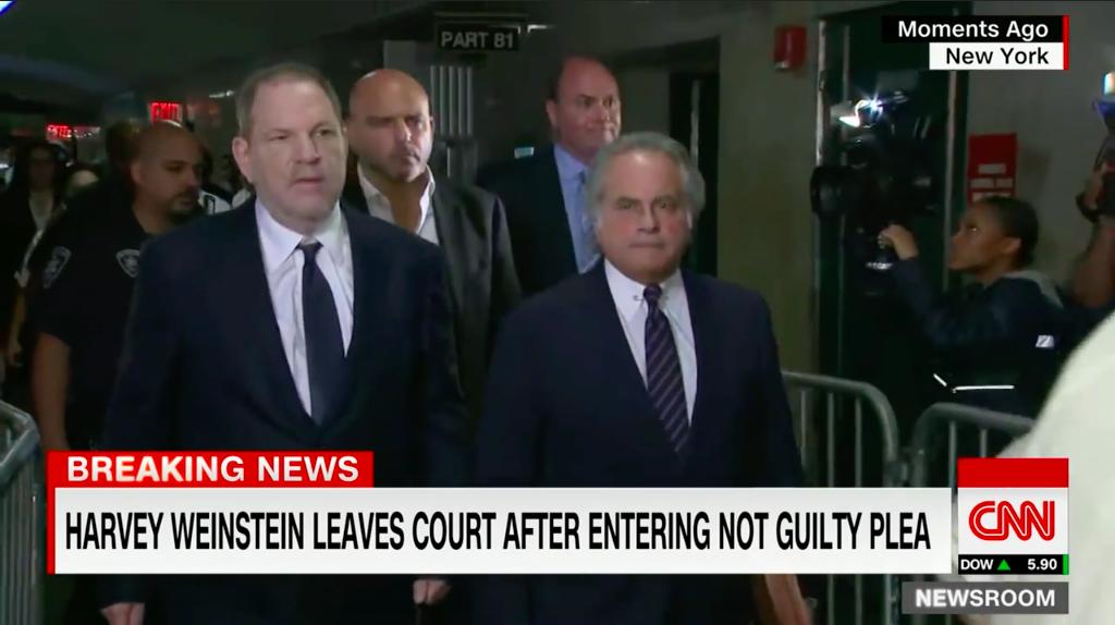 """""""Harvey Weinstein se declaró inocente de los cargos de abuso sexual"""""""