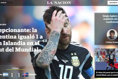 PORTADAS | En Argentina se quieren morir por amargo empate y prensa barre con Messi por penal errado