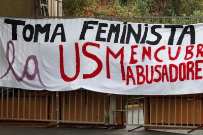 Estudiantes de la USM convocan intervención feminista en Mineduc