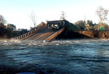 Caída de puente Cancura deja un muerto y seis heridos en Osorno