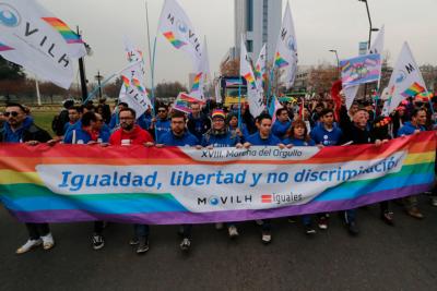 FOTOS | Miles de personas participaron en Marcha del Orgullo en Santiago