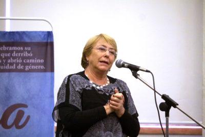 """Michelle Bachelet y feminismo: """"Estoy súper optimista con el movimiento de las chiquillas"""""""
