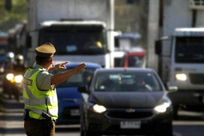 Carabineros ha multado a 174 conductores ante nuevo máximo de velocidad