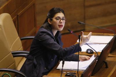 Karol Cariola aseguró ser víctima de acoso por integrantes del Movimiento Social Patriota