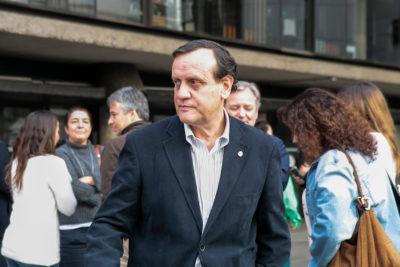 Rector Ignacio Sánchez mostró su rechazo al nuevo reglamento de objeción de conciencia