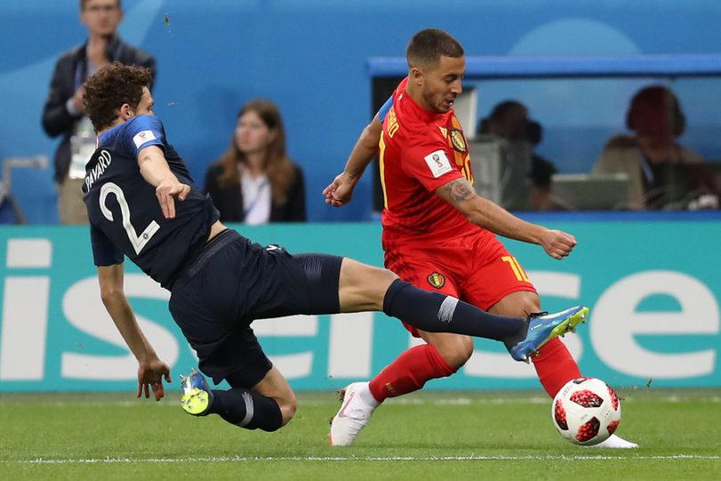 """El enojo de Bélgica tras perder con Francia: """"Este equipo no es mejor que nosotros"""""""
