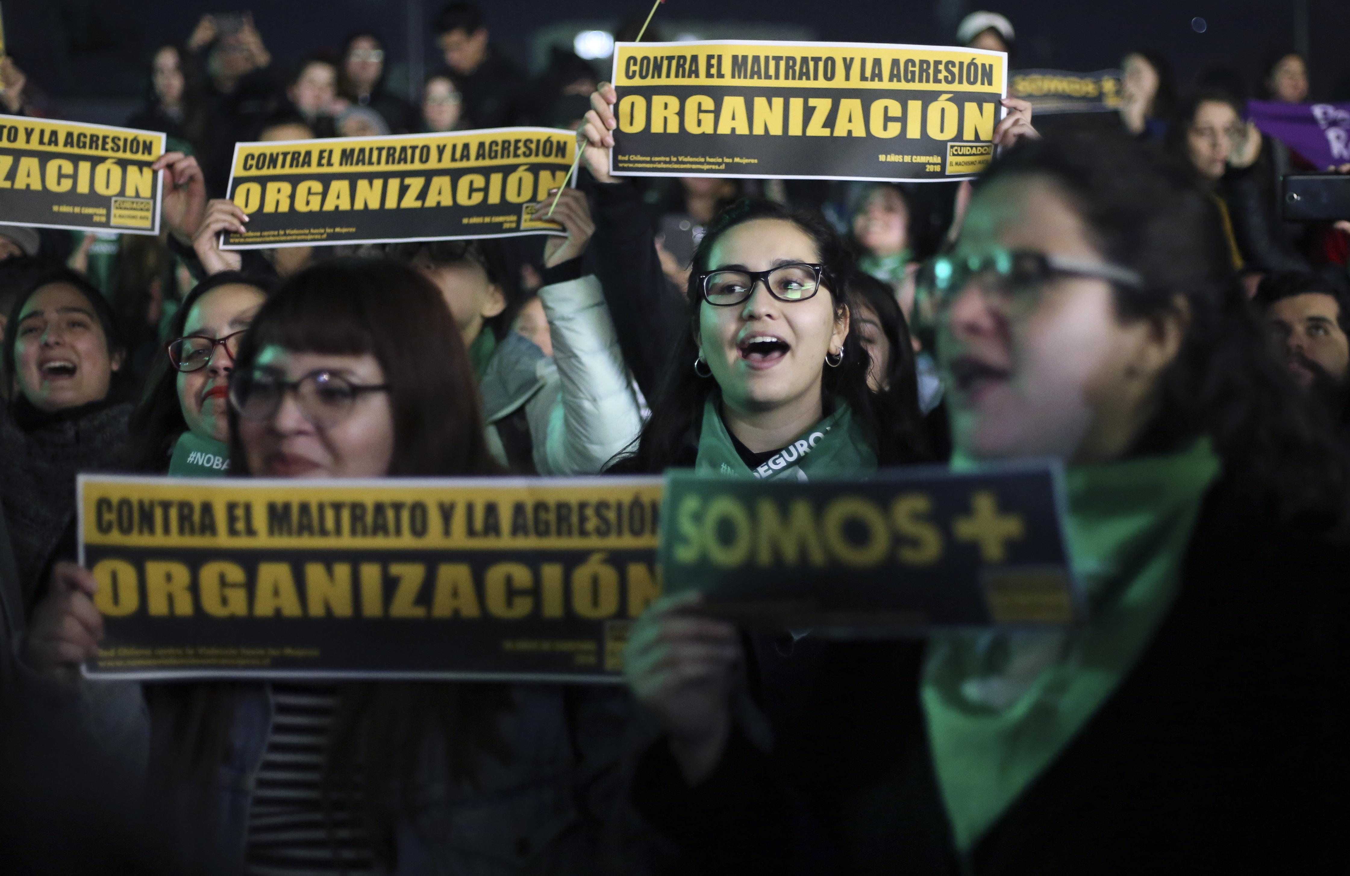 INDH presentará denuncia por ataque en marcha a favor del aborto libre