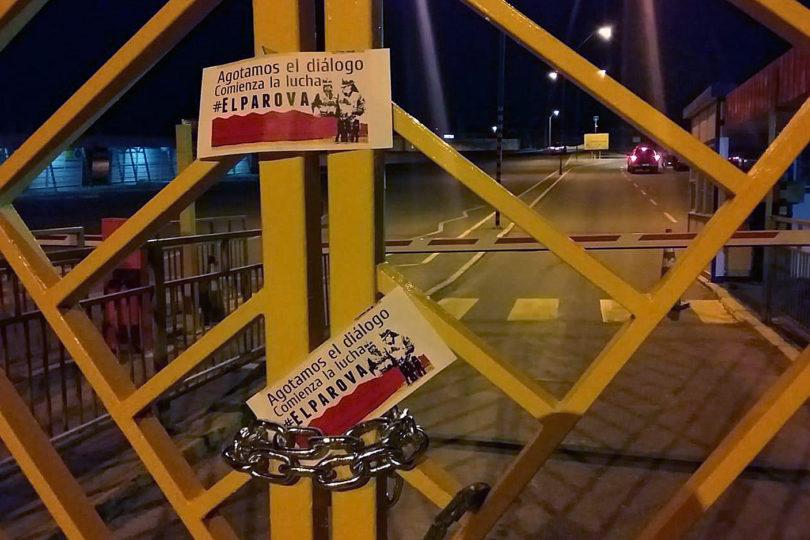 """Codelco califica de """"ilegal"""" la movilización de dirigentes sindicales de Chuquicamata"""