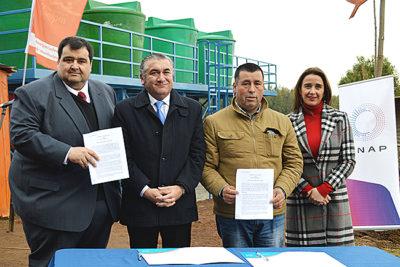 Vecinos de Caleta Perone contarán con condiciones más seguras de abastecimiento de agua potable