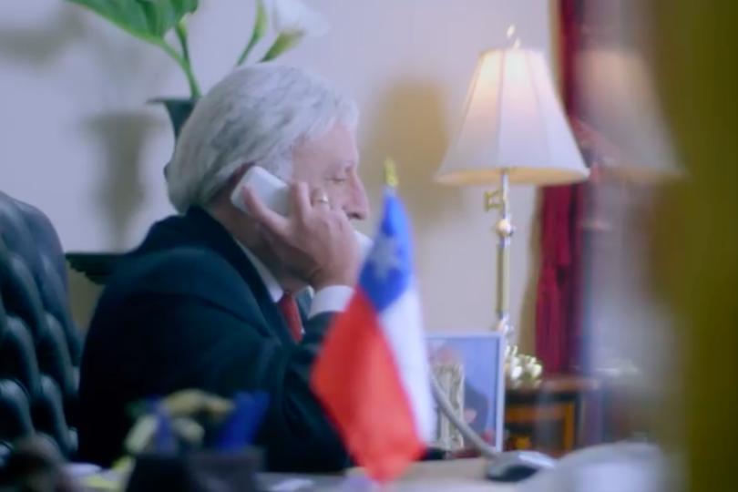 VIDEO | En Bolivia lanzan su propia imitación a Piñera tras