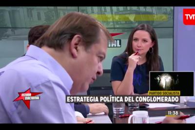 VIDEO | Francisco Vidal perdió el control con Andrea Arístegui en Estado Nacional y se dijeron de todo en vivo