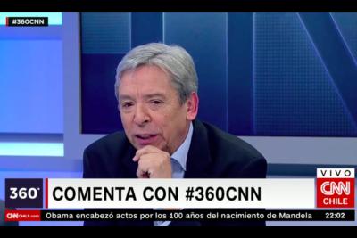 """Carlos Ominami compara a Lula con Mandela: """"Es inocente y el principal líder progresista de los últimos años"""""""