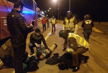 Carabineros detuvo en Iquique a reos fugados de Colina II