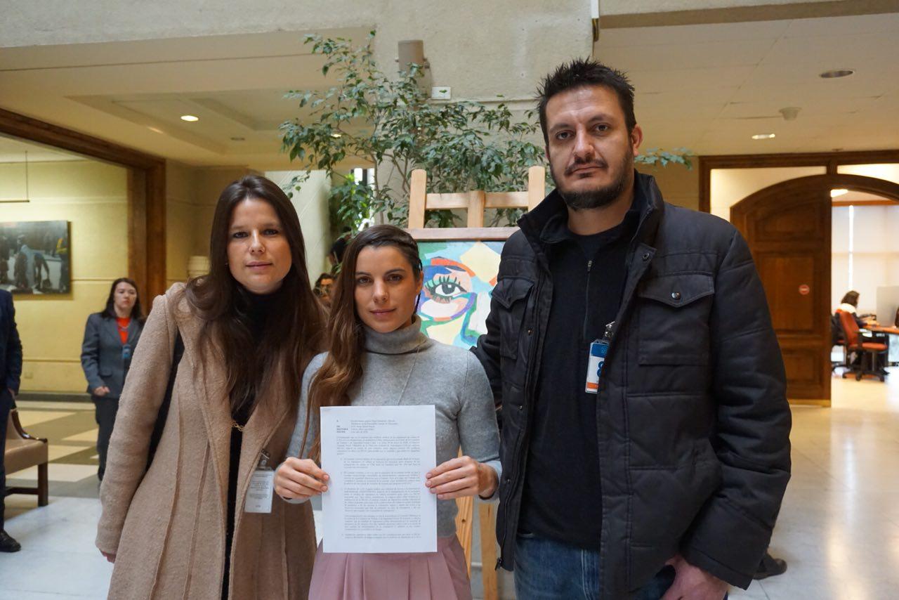 """""""Maite Orsini y Sindicato de LAN Express envían oficio a la DGAC por legislación laboral"""""""