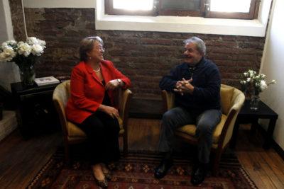 Bachelet lidera carta de apoyo para que Lula da Silva sea candidato presidencial
