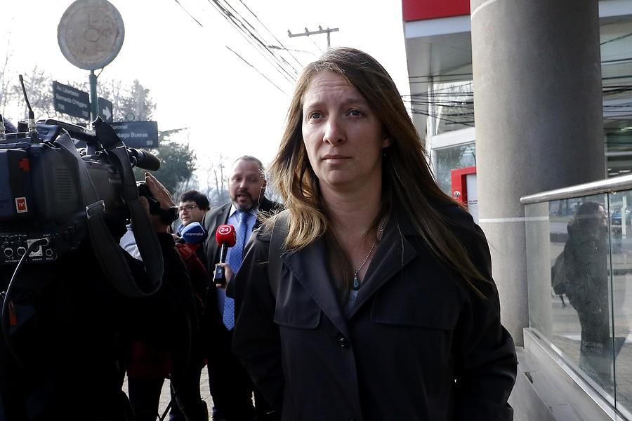 """""""Natalia Compagnon responde en duros términos a fiscal Moya:"""