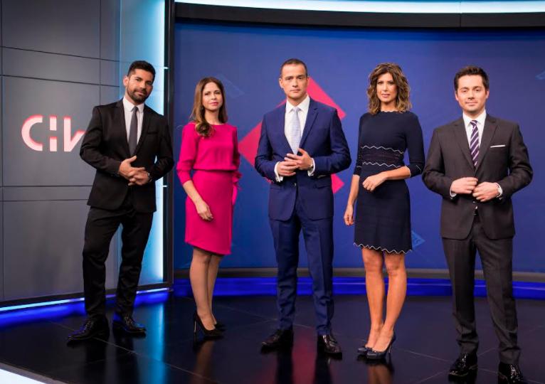 """""""CHV Noticias debuta en nuevo horario de las 20:00 y se queda con en el rating en su franja"""""""