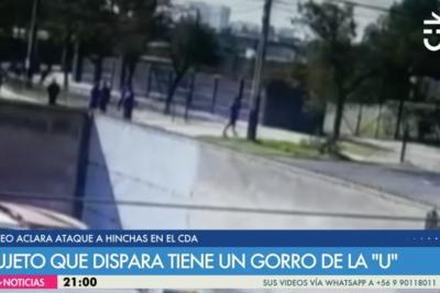 VIDEO | Nuevo registro muestra que sujeto que disparó en el CDA tenía un gorro de la U