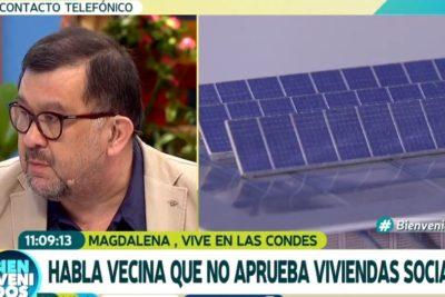 """Viviendas sociales: Argandoña habla de """"delincuentes de 8 años"""" y Carlos Zárate saca aplauso con respuestas a clasistas"""