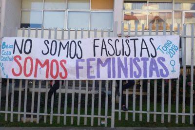 Toma feminista de la Universidad de Playa Ancha finalizó tras 108 días