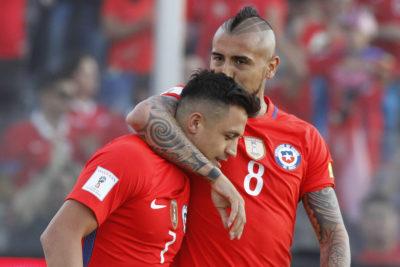 """Pellegrini: """"Alexis y Vidal están a la altura de los mejores jugadores del mundo"""""""