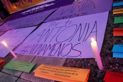 Familia de Antonia Garros demanda al Estado por actuar negligente de Carabineros