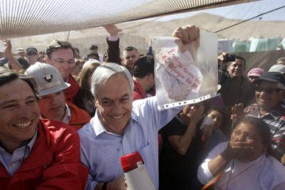 VIDEO | Sebastián Piñera conmemora el accidente de los 33 mineros de San José