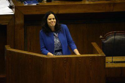 Presidenta de la Cámara de Diputados pone en duda su presencia en Te Deum evangélico