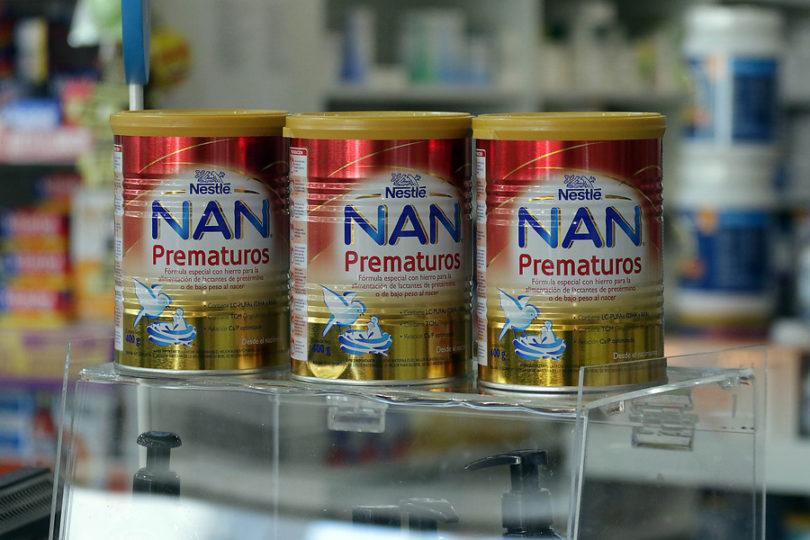 Minsal anuncia sanciones por contaminación en fórmula NAN Prematuros