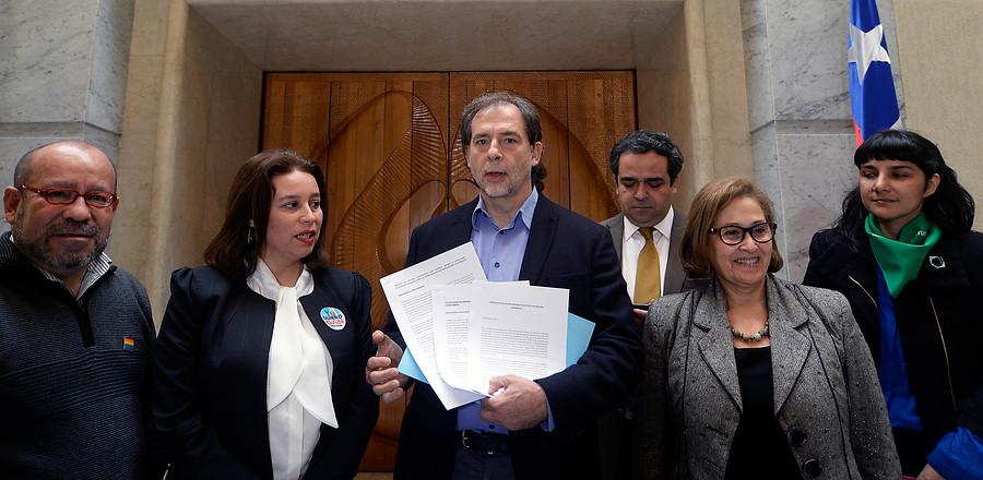 """""""Senador Guido Girardi ingresa al Congreso proyecto de aborto libre"""""""