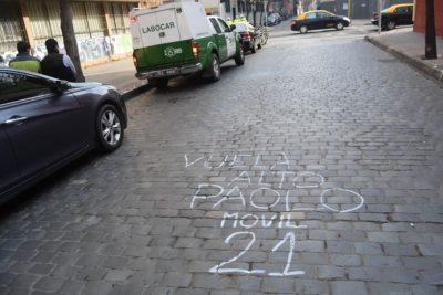 Carabineros detiene a conductor involucrado en muerte de taxista en Santiago Centro