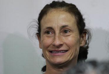 VIDEO | Amparo Noguera lanzó consignas contra Patricia Maldonado en el Museo de la Memoria