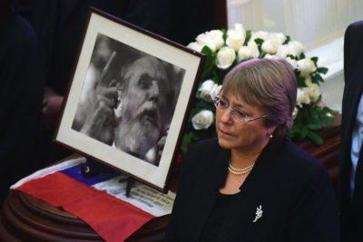 """Michelle Bachelet: """"La memoria nunca puede olvidarse ni tergiversarse"""""""