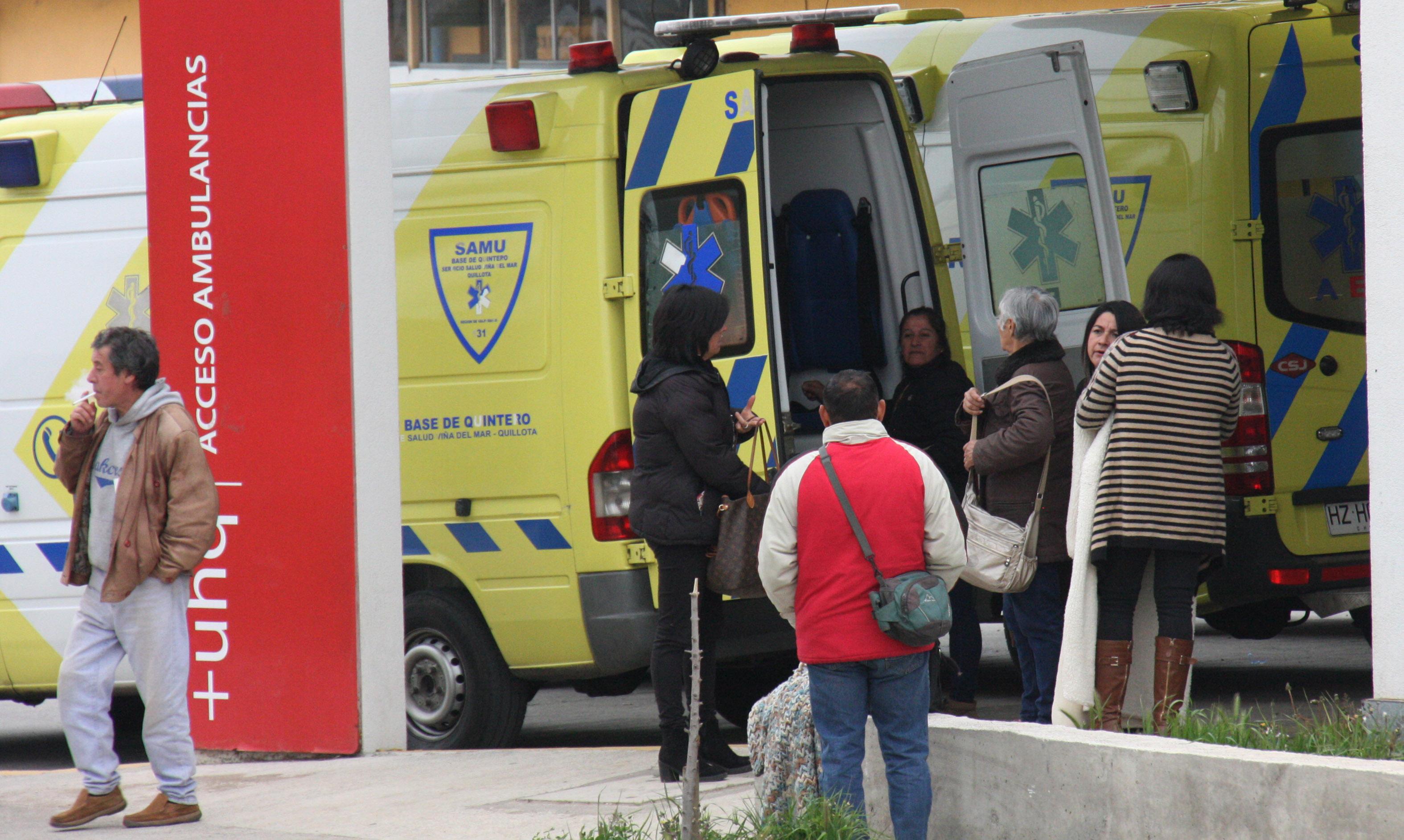 Segunda intoxicación en dos días: evacúan liceo de Quintero por desconocido gas