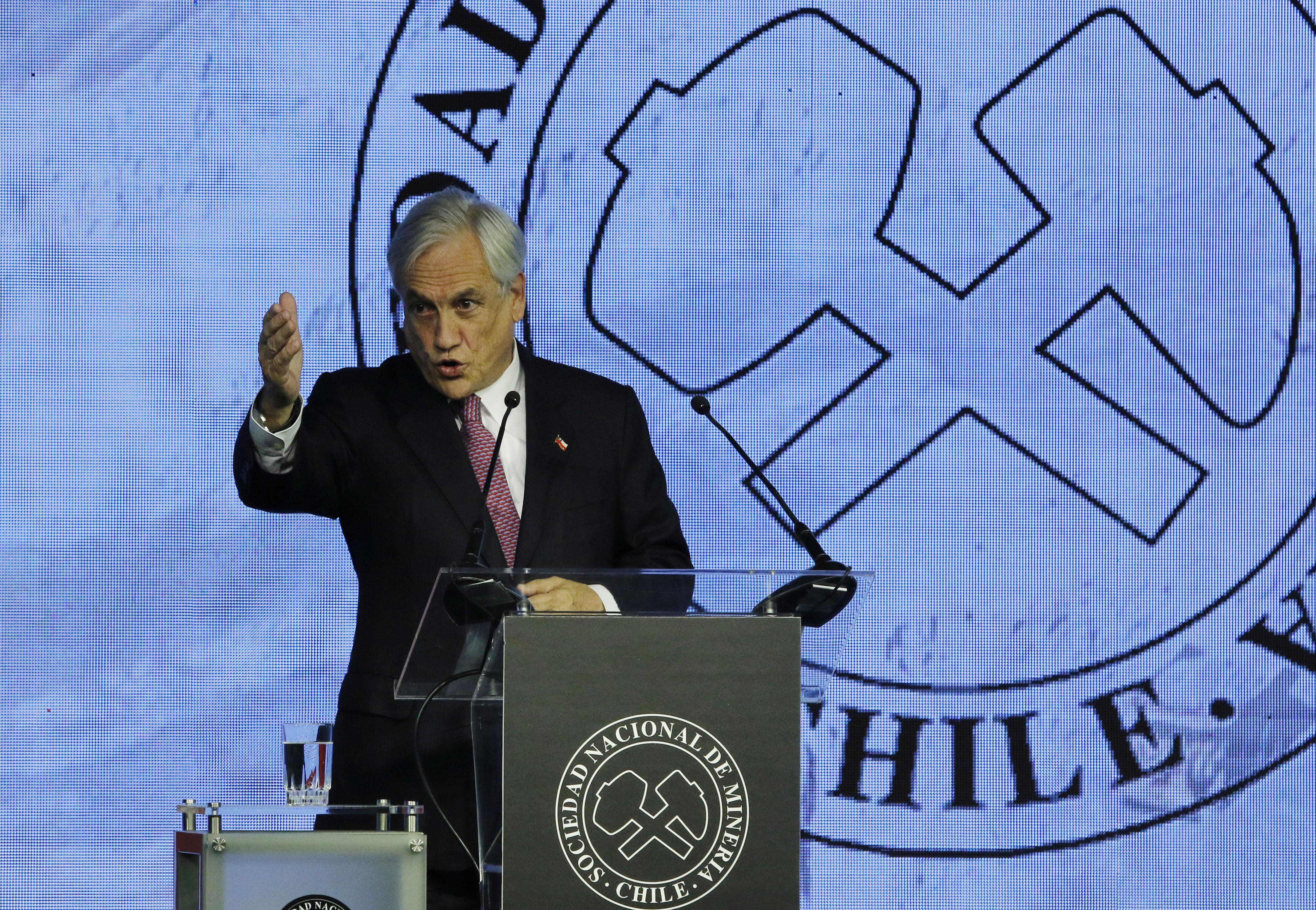"""Presidente Sebastián Piñera anuncia que """"la reforma laboral está lista"""""""