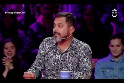 VIDEO |El aplaudido gesto que tuvo Pedro Ruminot con participante de Pasapalabra