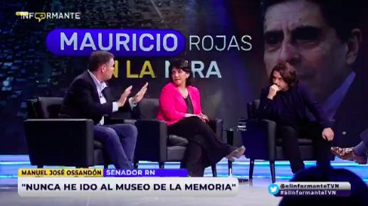 El tenso momento entre Mayol y Ossandón en El Informante