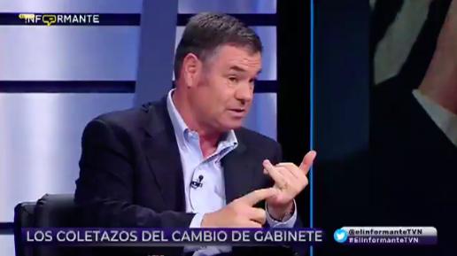 """El momento en que Ossandón trata de """"debiucha"""" a Bachelet"""