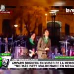 """Amparo Noguera: """"No a la Paty Maldonado en Mega"""""""