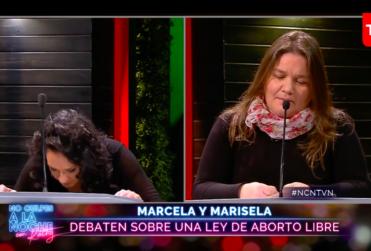 VIDEO | Diputada Marisela Santibáñez no podía creer los argumentos de Marcela Aranda por aborto
