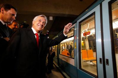 AUDIO |Chofer de Metro responde ninguneo de Piñera a través de los parlantes y para todos los pasajeros