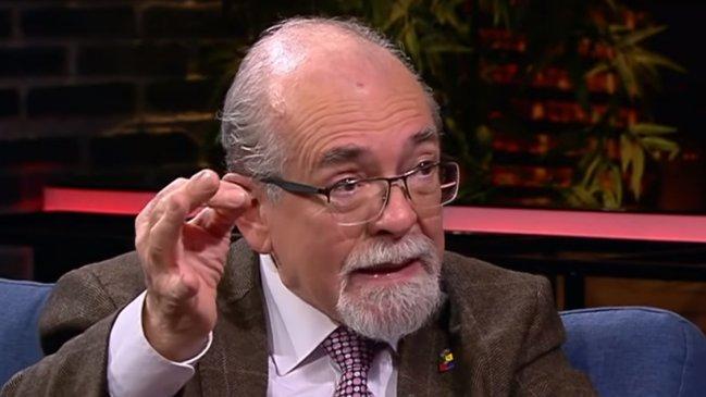 """""""Astrónomo José Maza trata de"""
