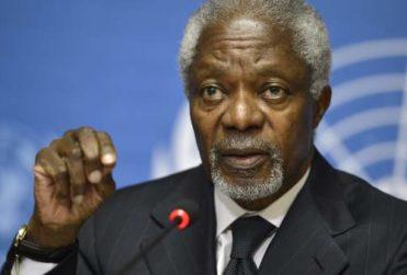 """Bachelet despide a Kofi Annan: """"El mundo pierde a un promotor de la paz y el diálogo"""""""