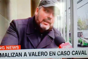 Pataleta en vivo de Sebastián Dávalos con CNN Chile