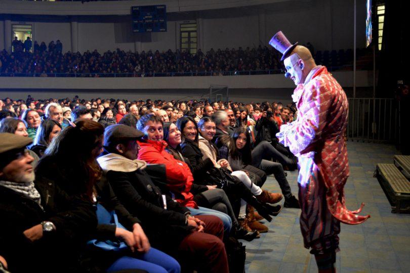 Presentación de Universo Casuo Grand Espectáculo du Cirque causa furor en Concepción y Talcahuano