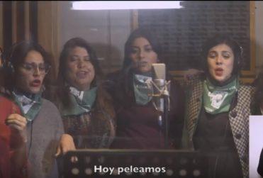 """""""Vamos Ya"""": diputadas de oposición cantan por el aborto libre"""