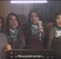 """VIDEO   """"Vamos Ya"""": diputadas presentan versión de 'Bella Ciao' por el aborto libre"""