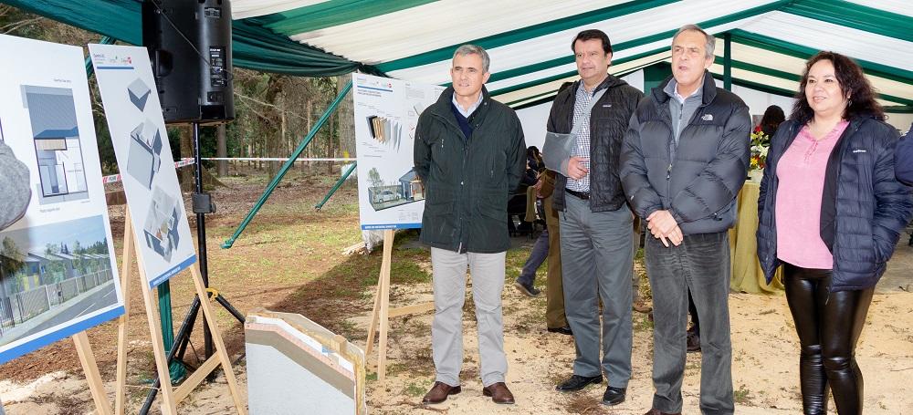 Comienza la entrega de terrenos para la construcción de viviendas sociales en Villa Mininco