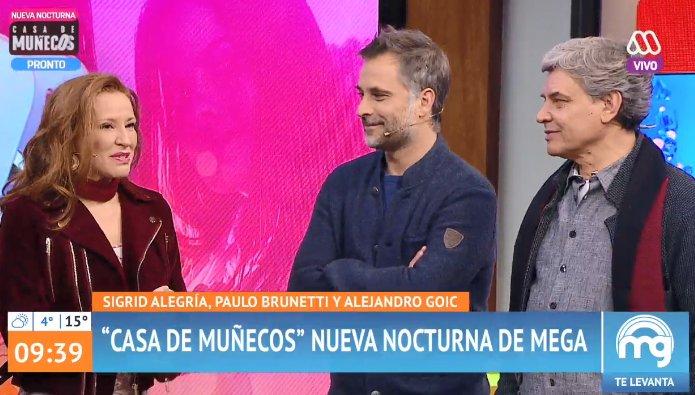 Daniela Aránguiz protagoniza polémica con actor Alejandro Goic