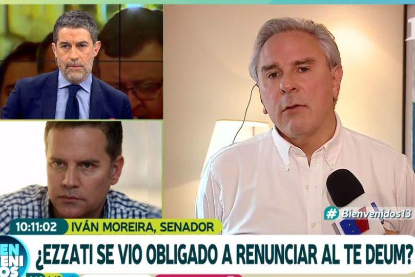 """Víctima de Karadima cuestiona a Canal 13 por """"debate"""" con Moreira: """"Eso no se hace"""""""